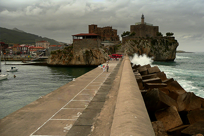 Salida al mar en Castro Urdiales